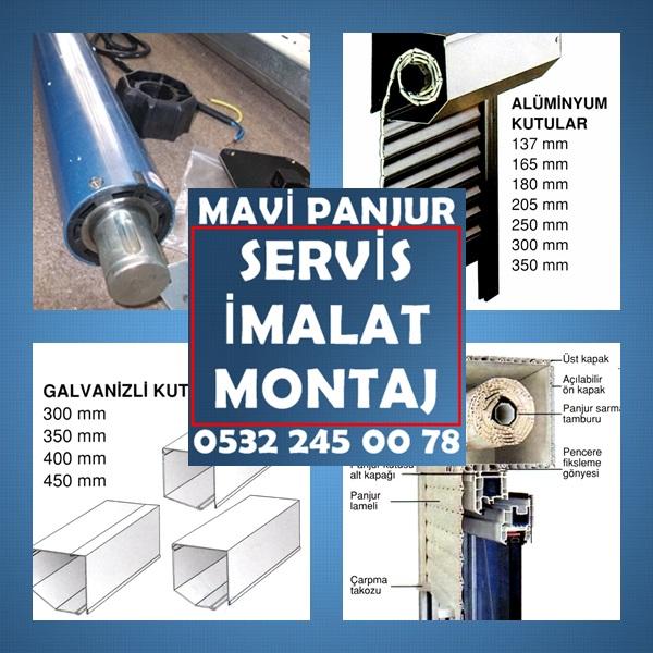 Mavi Panjur ,Panjur Uygulayıcısı,Panjur İmalat,Panjur Montaj,0532 24500