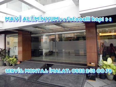 MAVİ ALÜMİNYUM | fotoselli kapı, fotoselli kapı SERVİS, fotoselli kapı MONTAJ, 0532 245 00 78